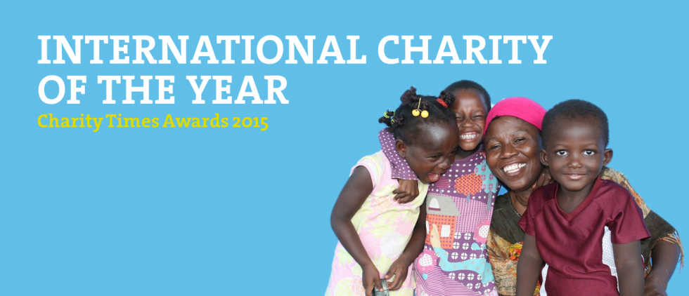 International Charity of the year - Charity Times Award 2015
