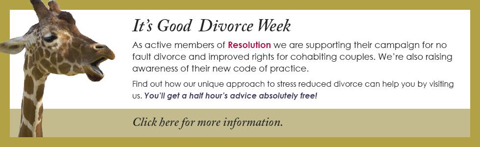 It's Good Divorce Week