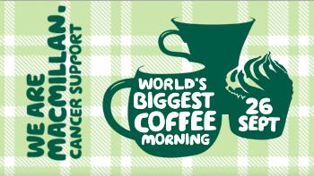 macmillan coffee morning Maidenhead